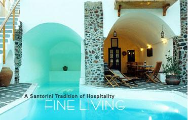 Caldera Cliffs A Santorini Tradition Of Hospitality Fine Living